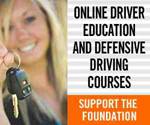Online Driver Education and Defensive Driving Class - Support the Foundation