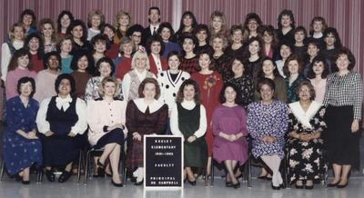 Keeley Staff 1991