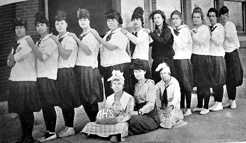 1918 Girls Basketball Team