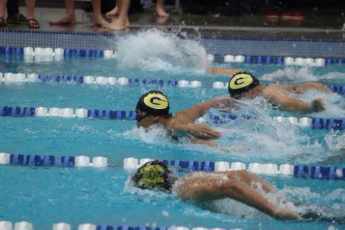 Swim Team in Water