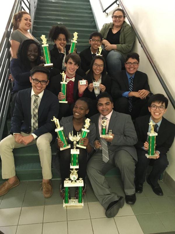 GHS Speech & Debate Winners