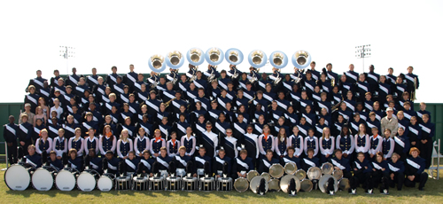 Sachse High School Mustang Band Group Photo